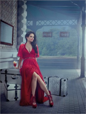 Eva Green Red Hot Campari Calendar Photoshoot 2015