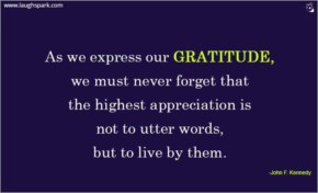 Express Our Gratitude - Inspirational Quotes on Life