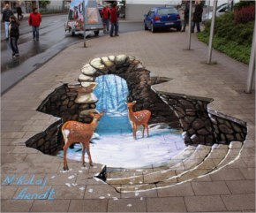 Fairy Tale New 3D Street Art Painting