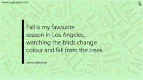 Fall is My Favorite Season | World Environment Day Quotes