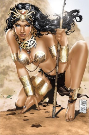 Fantasy hot worrier women