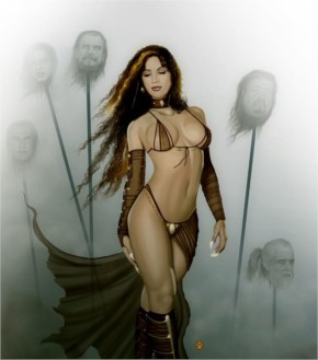 Fantasy woman some heads are gonna roll by raro