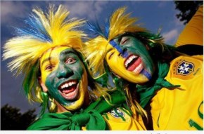 Fifa World Cup 2014  Fans Cheering, Brazil