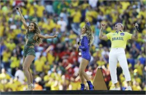 Fifa World Cup 2014 kicks off in style with Pitbull and JLo