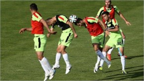 Fifa world cup 2014 SANCTIONS AND SHRINKING SOCKS HIT IRAN'S WORLD CUP HOPES