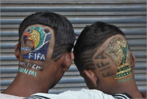 Fifa WorldCup2014 Brazil Wacky Hairstyles