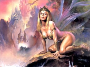 Fantasy girl by - Boris Vallejo Julie Bell Faerie