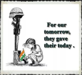 For our tomorrow they gave their today