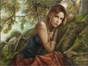 Forest princess fantasy art artwork