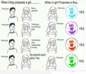 Funniest Fact Abour The Proposals Given By Boys To Girls And ... Funny Comic