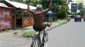 Funny and crazy cyclist-33