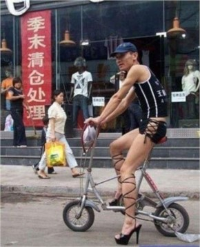 Funny and crazy cyclist-7