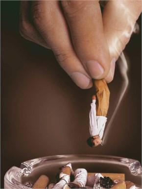 Funny Creative anti smoking ads