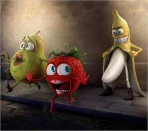 funny fruits
