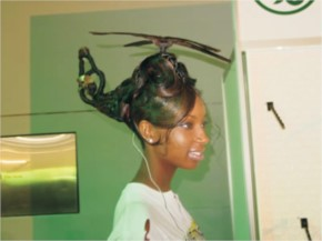 Funny Helicopter hairstyle