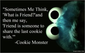 Funny Image -cookie monser