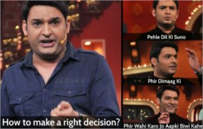 Funny Image Husband And Wife With Kapil Sharma