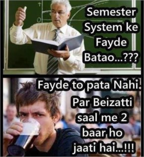 Funny Image Student  and Sir