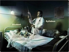 Funny Image Student And Syllabus