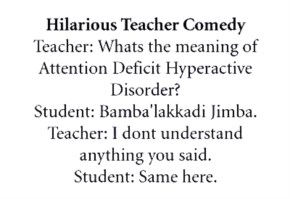 Funny Image Student And Teacher