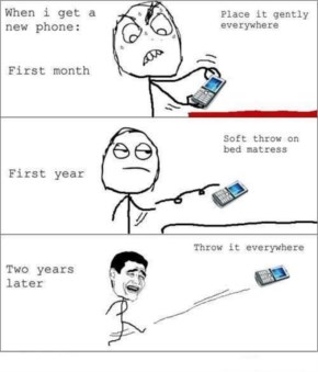 Funny Old New Cell Phones Comic