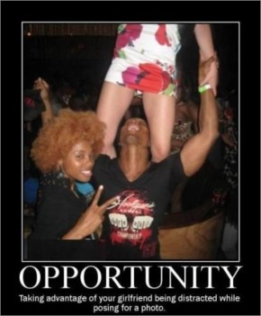 Top 25 Funny Opportunity Pictures