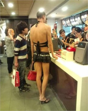 Funny Outfits of the Crazy People