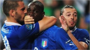Funny pictures cartoons Balotelli italy team fifa world cup 2014