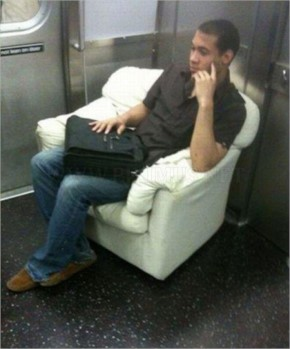 Funny Subway People-21