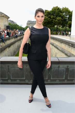 Gemma Arterton at Christian Dior Show During Paris Haute Couture Fashion Week