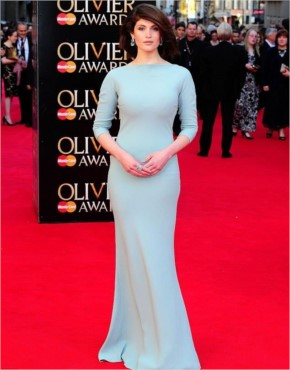 Gemma Arterton Attend the Olivier Awards