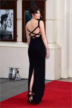 Gemma Arterton in olivier Awards 2015