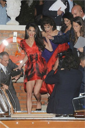 George Clooney marries Amal Alamuddin in blockbuster Venice Wedding PIctures 2