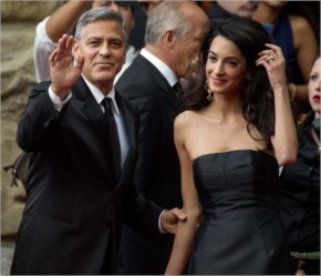 George Clooney marries Amal Alamuddin in blockbuster Venice Wedding PIctures