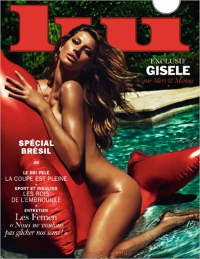 10+ Gisele Bundchen by Mert Alas Marcur Piggott for lui magazine june 2014