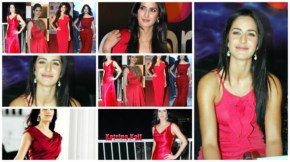 Gorgeous katrina kaif  looks hot  and sexy in red dresses