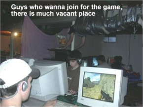 Guys who wanna join for the game, there is much vacant place