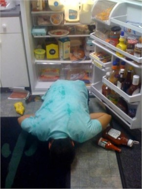 26 Hangover madness can land you at any place