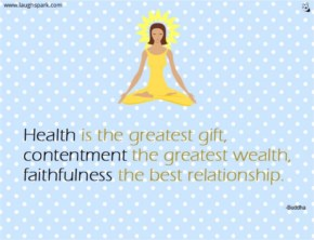 Health Is The Greatest Gift - Inspirational Quotes on Life