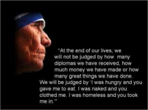 Help Those Who Need Help - Mother Teresa Inspirational Quotes