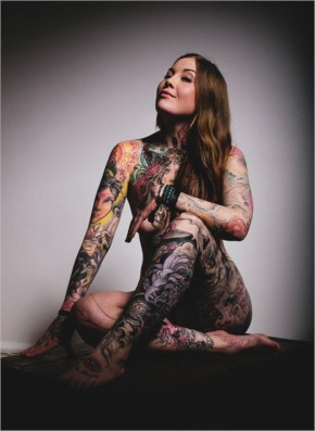 35+ HOT PHOTOS OF ATTRACTIVE AND SIZZLING INKED GIRLS