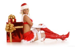 Hot Santa Chicks -1