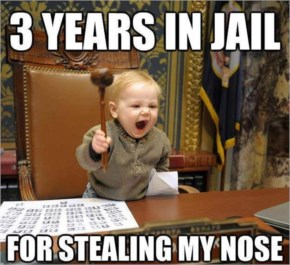 HUMOROUS BABY – 3 YEARS In Prison For Staling My Commotion