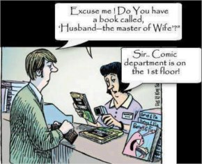 Husband Wife Jokes-Fuuny Jokes-Book Shop-Best Good-The master of
