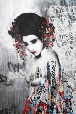 HUSH – Between Geisha and Street Art