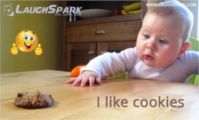 I Like Cookie | Cute Baby Pictures with Captions