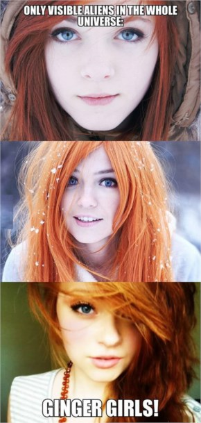 I Love Them! Who Else?....Beautiful Redhead Girls Ilustrations