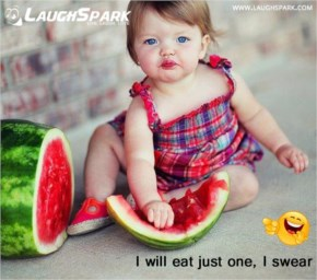 I will eat just one, I swear | Cute Baby Eating Picture