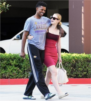 Iggy Azalea Supports Boyfriend Nick Young After His Hospital Stay