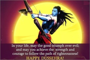 In your life, may the good triumph over evil